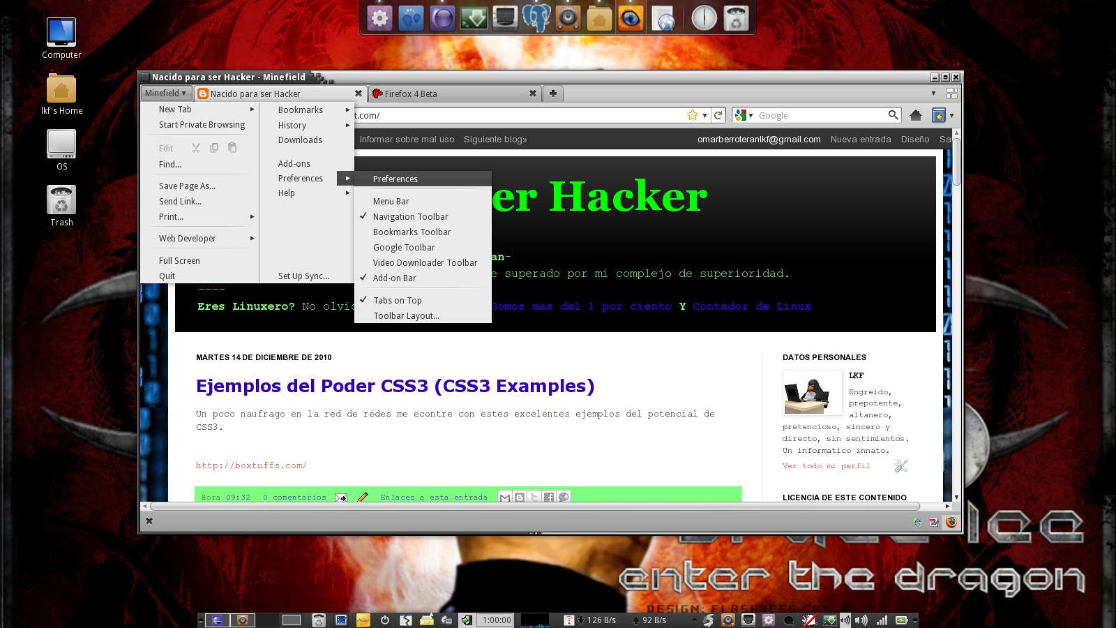Nacido para ser Informatico: get Firefox 4 (Mozilla Firefox 4)