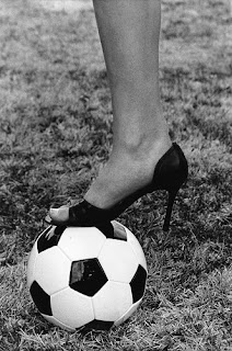 Soccer self portrait by LBott @ Flickr.com. Link at bottom of post.