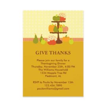 Funny Thanksgiving Invitation Sayings,Thanksgiving.Invitation Card