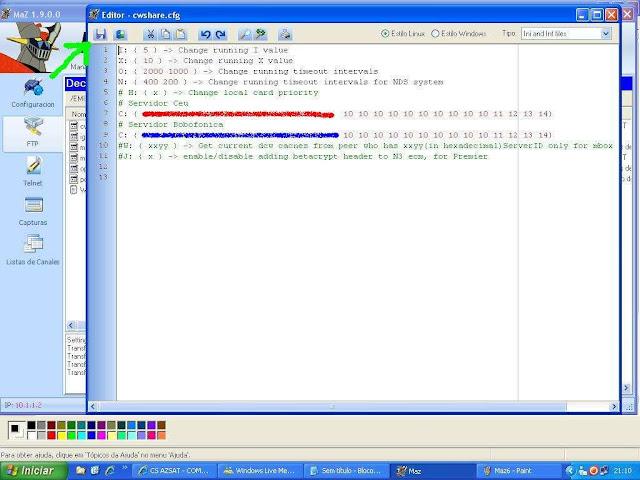 -029 Como configurar CS no Azbox Elite via Mbox.