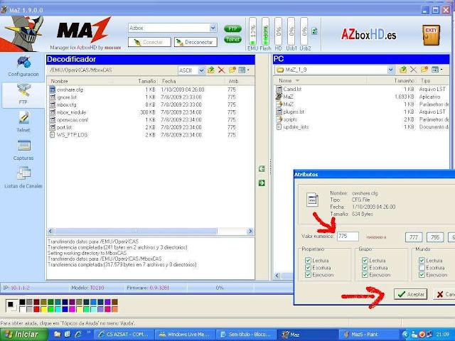 -032 Como configurar CS no Azbox Elite via Mbox.