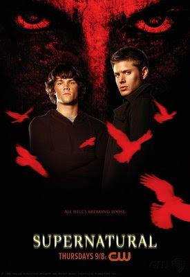 Novo+poster Supernatural – 4ª Temporada – Dublado