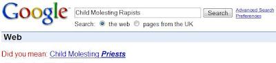 child molesting rapists
