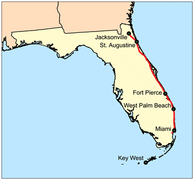 West Palm Beach Directions From Spring Hill Fl