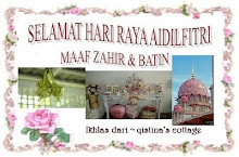 Salam AidilFitri dari Azie (Qistina Cottage)