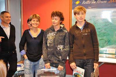 Classe l 39 equipe france jeunes remise des prix 2008 de la for Prix de la pierre
