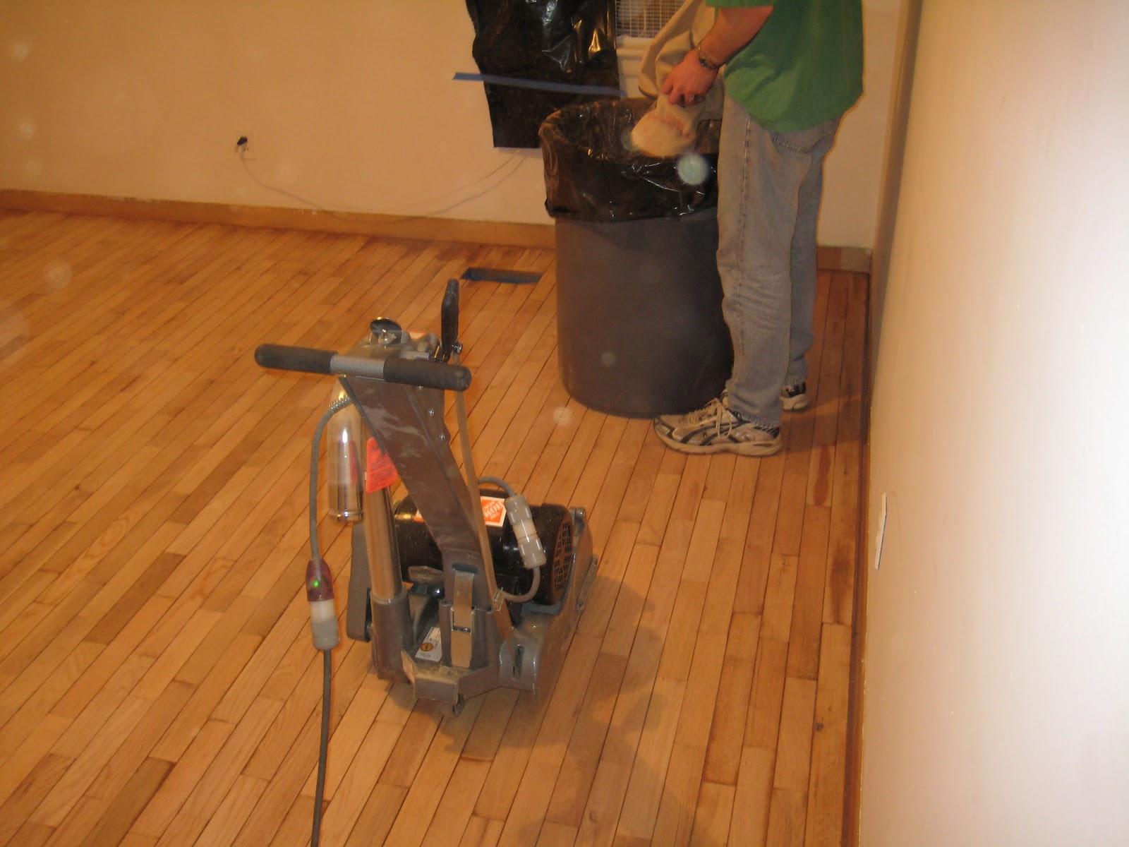 Hardwood Floor Sanders a diy guide to sanding hardwood floors portland or Floor Sanders Drum V Random Orbit