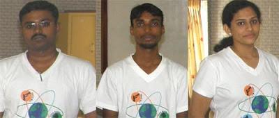 Prakash, Ayyappan and Vaishnavi