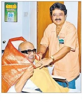S V Sekar honouring Kalignar Karunanidhi