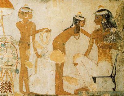 Historia del Maquillaje (I). El Antiguo Egipto  My ...