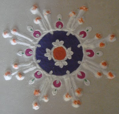 Happy Diwali (Rangoli)