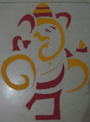 Happy Diwali (Rangoli) - 2 (Happy Padva)