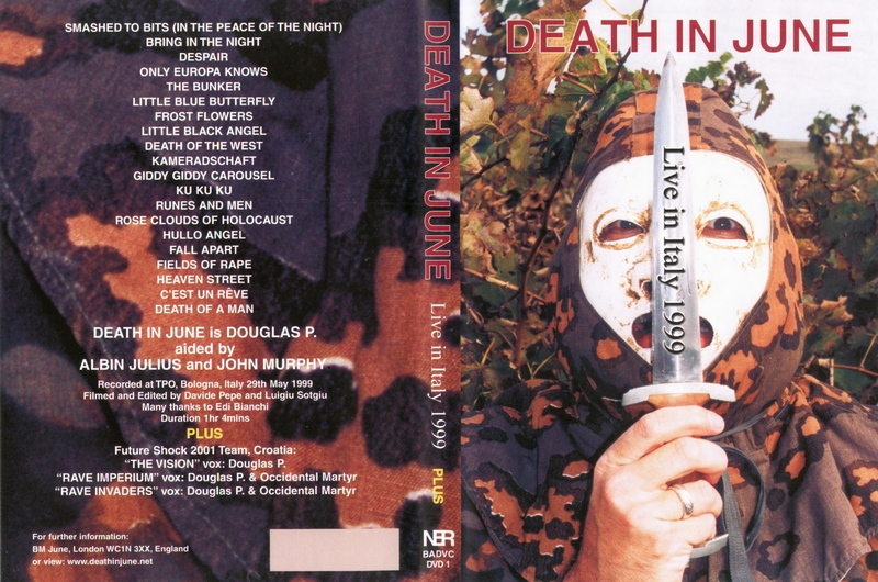 Death In June - Live In Athens, Hellas, May 21, 1999