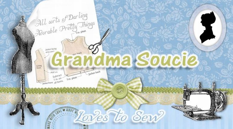 GrandmaSoucie Loves to Sew