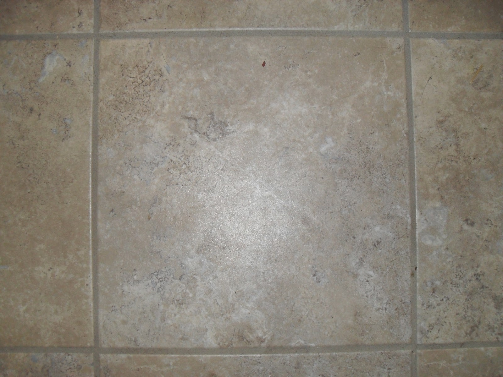 One ring short of a circus groutable vinyl tile flooring for Vinyl tile over linoleum