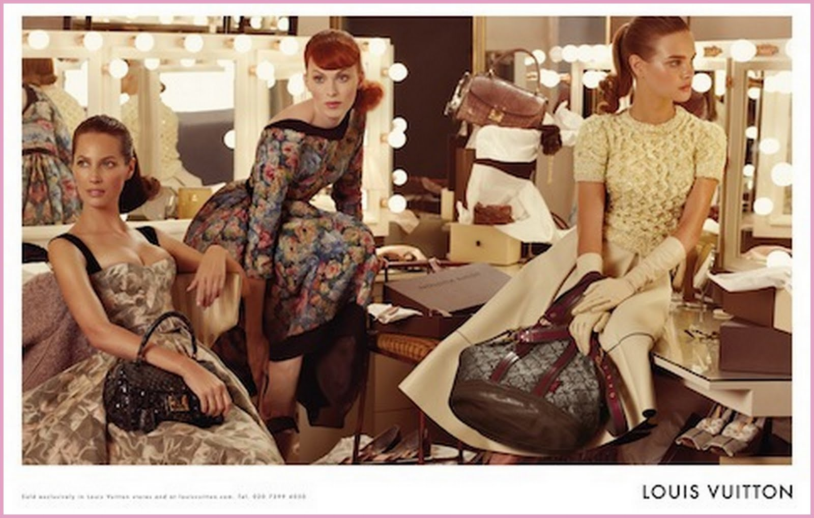 beauty girl musings: Louis Vuitton Ad Campaign Featuring ...
