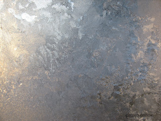 frosted window