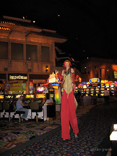on stilts at the Rio