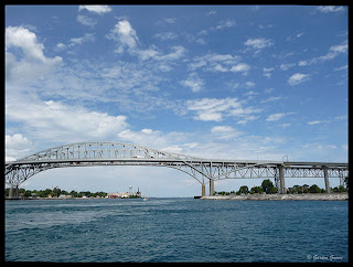 Blue Water Bridge Sarnia, Ontario