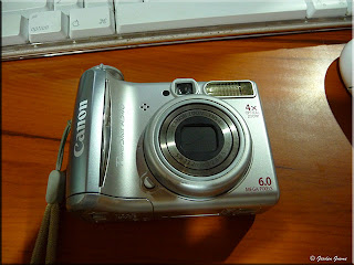 repaired digital camera