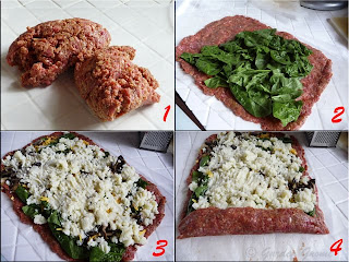 how to make vegetable stuffed meatloaf