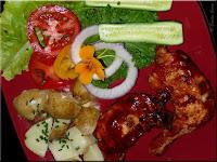 maple sauced chicken