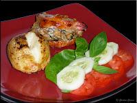 mushroom stuffed pork chops