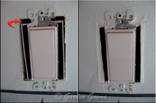 unsealed electrical switch
