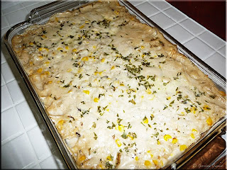 creamed turkey casserole