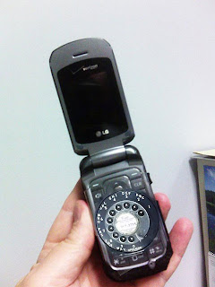 senior's cell phone