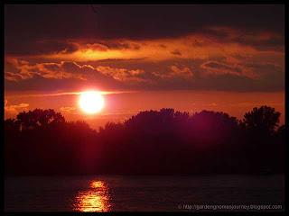 sunset August 21, 2010