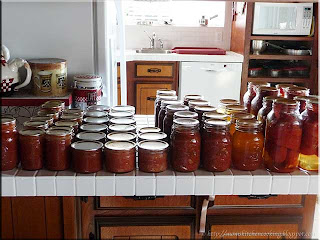 home canned tomato products
