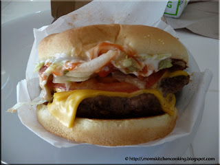 Checker's buford burger