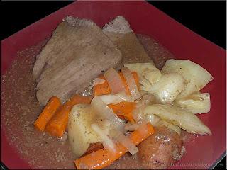 rump roast dinner