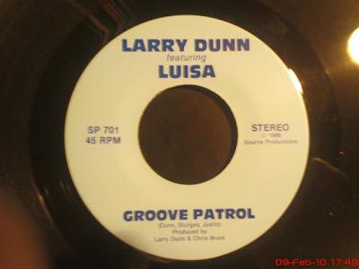 LARRY DUNN & LUISA - Benjammins Bin Jammin (1986)