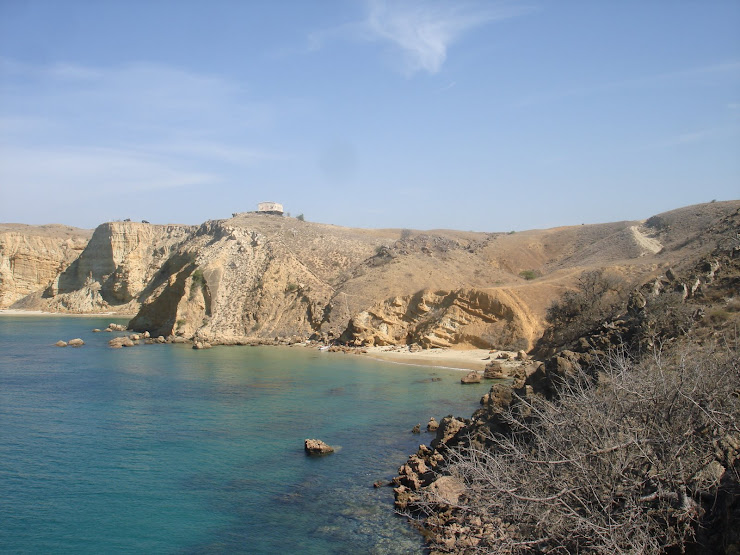 Praia ca Caotinha - Benguela...(paisagem tipo fundo do windows...:S)