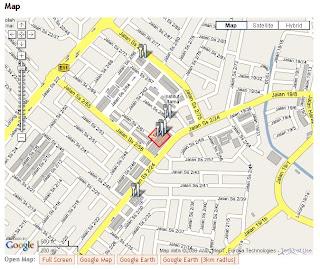 Google Satellite Map Malaysia