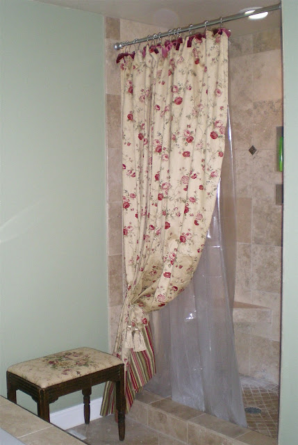 curtain made ready shower waverly
