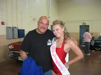 Paisano with 2010 Jalopyrama Queen