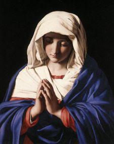 Virgen María. Giovanni Battista Salvi da Sassoferrato (1640-1650)