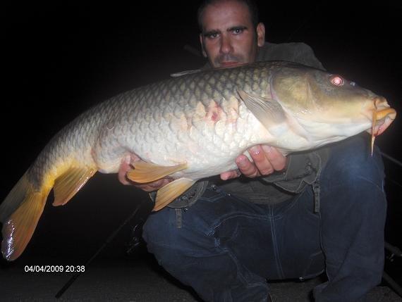 Carpa 7,8 kg 4 Abril 2009