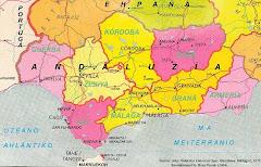 Mapa de la Nación Andaluza