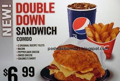 burger tanpa roti kfc