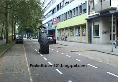 Basikal Pakai Tayar Trak