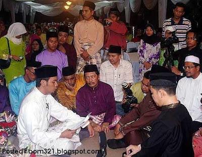 Gambar Pernikahan Aida (Gadis Melayu) Dan Saiful Nizam (TV3)