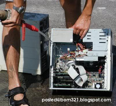 Cara Mencuci Komputer Anda !