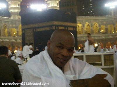 mike tyson at makkah