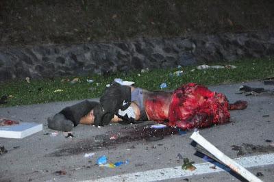 Kemalangan Ngeri 10.10.10 Tragedi di Tol Simpang Ampat plaza tol plus km 223