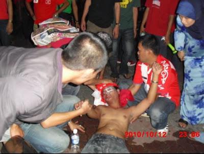 Gambar Penyokong Kelantan Meninggal Dunia Selepas Menonton Bola!