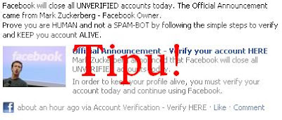 Official Announcement - Verify your account HERE